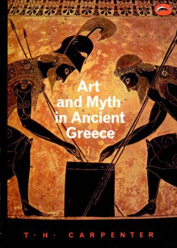 Art and Myth in Ancient Greece   1991 edition cover
