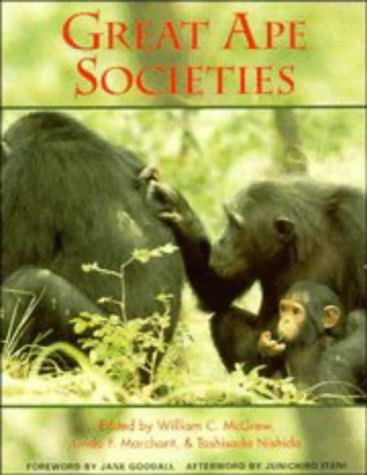 Great Ape Societies   1996 9780521555364 Front Cover