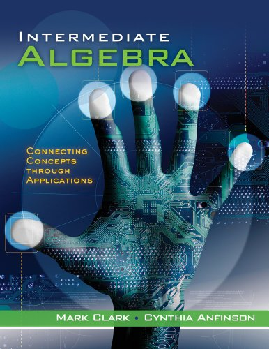 Intermediate Algebra Connecting Concepts Through Applications  2012 edition cover
