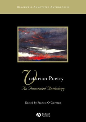 Victorian Poetry An Annotated Anthology  2004 edition cover