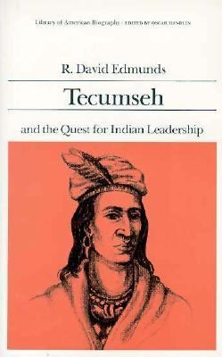 Tecumseh and the Quest for Indian Leadership   1984 edition cover