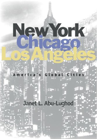 New York, Chicago, Los Angeles America's Global Cities  1999 edition cover