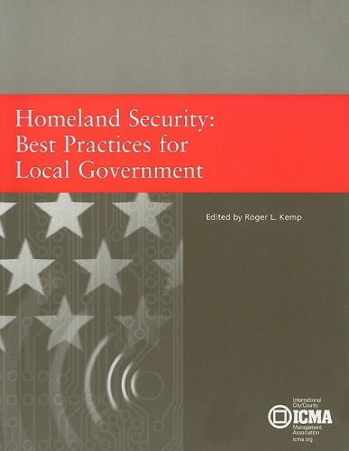 Homeland Security Best Practices for Local Government  2003 9780873261364 Front Cover