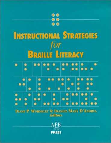 Instructional Strategies for Braille Literacy  N/A edition cover
