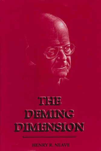 Deming Dimension 1st 1990 edition cover