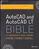 AutoCAD 2015 and AutoCAD LT 2015 Bible   2014 edition cover