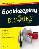 Bookkeeping for Dummies�  2nd 2015 edition cover