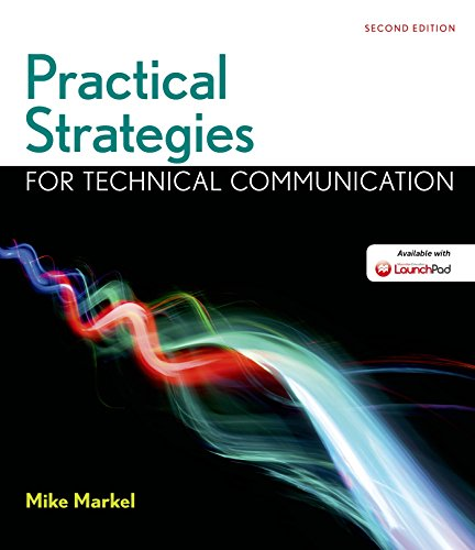 Practical Strategies for Technical Communication  2nd 2016 9781319003364 Front Cover