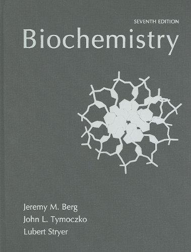 Biochemistry  7th 2010 edition cover