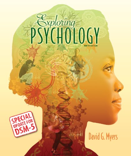 Exploring Psychology With Updates on Dsm-5:  9th 2014 9781464163364 Front Cover