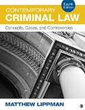 Contemporary Criminal Law Concepts, Cases, and Controversies 4th 2016 edition cover
