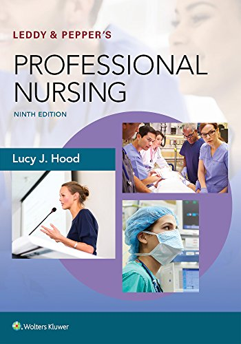 Leddy & Pepper's Professional Nursing  9th 2018 (Revised) 9781496351364 Front Cover