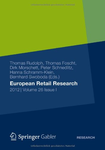 European Retail Research 2012, Volume 26, Issue I  2012 9783834942364 Front Cover