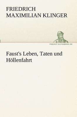 Faust's Leben, Taten und Höllenfahrt N/A edition cover