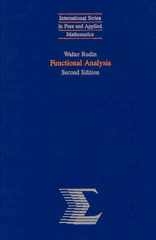 Functional Analysis  2nd 1991 (Revised) 9780070542365 Front Cover