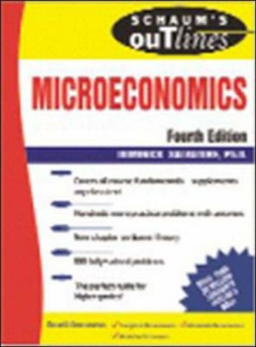 Microeconomics  4th 2006 (Revised) edition cover