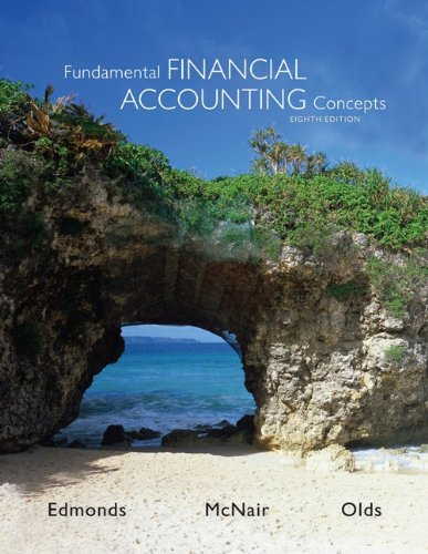 Fundamental Financial Accounting Concepts  8th 2013 edition cover