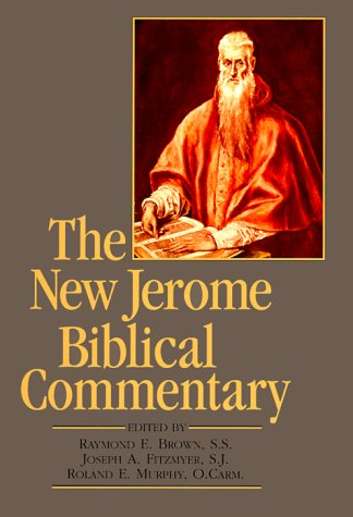 New Jerome Biblical Commentary  3rd 2000 (Revised) edition cover