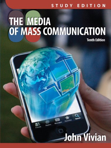 Media of Mass Communication, Study Edition  10th 2012 edition cover