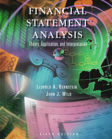Financial Statement Analysis Theory, Application, and Interpretation 6th 1998 (Revised) 9780256267365 Front Cover