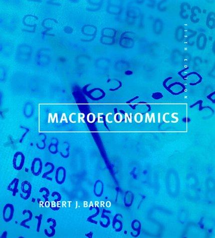 Macroeconomics  5th 1998 edition cover