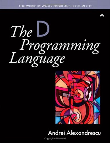 D Programming Language   2010 edition cover