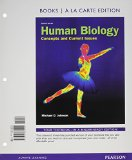 Human Biology Concepts and Current Issues, Books a la Carte Plus MasteringBiology with EText -- Access Card Package 7th 2014 edition cover
