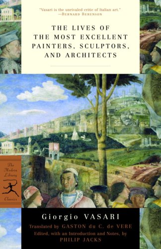 Lives of the Most Excellent Painters, Sculptors, and Architects   2005 edition cover