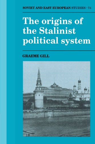 Origins of the Stalinist Political System   2002 9780521529365 Front Cover