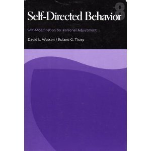 Self-Directed Behavior Self-Modification for Personal Adjustment 8th 2002 (Revised) 9780534527365 Front Cover