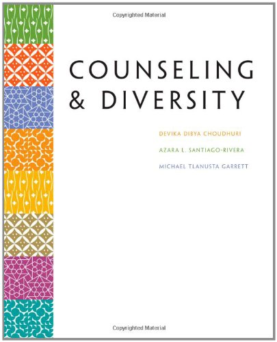 Counseling and Diversity   2012 edition cover