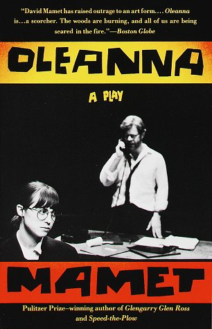 Oleanna A Play N/A edition cover