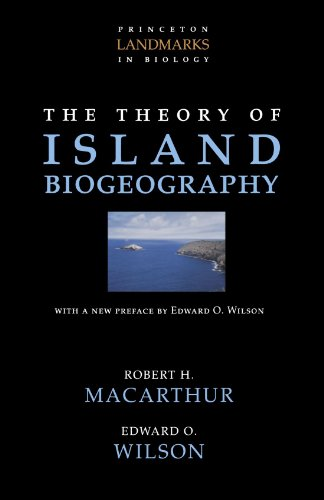 Theory of Island Biogeography  2nd 2001 (Revised) edition cover