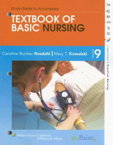 Study Guide to Accompany Textbook of Basic Nursing  9th 2007 (Revised) edition cover