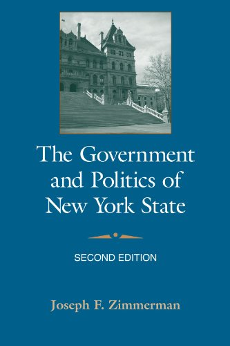 Government and Politics of New York State  2nd 2008 edition cover