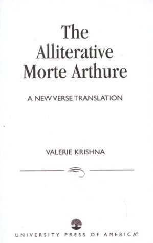 Alliterative Morte Arthure A New Verse Translation  1983 edition cover