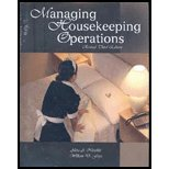 Managing Housekeeping Operations  3rd 2008 9780866123365 Front Cover