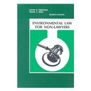 Environmental Law for Non-Lawyers  4th 2008 9780962546365 Front Cover