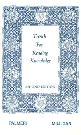 French for Reading Knowledge 2nd 1969 (Reprint) edition cover