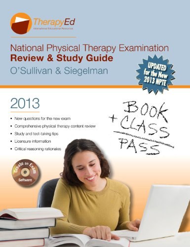NATIONAL PHYSICAL THERAPY EXAM N/A edition cover