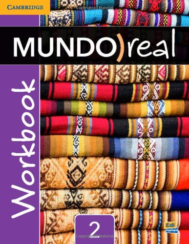 Mundo Real Level 2:   2014 9781107414365 Front Cover