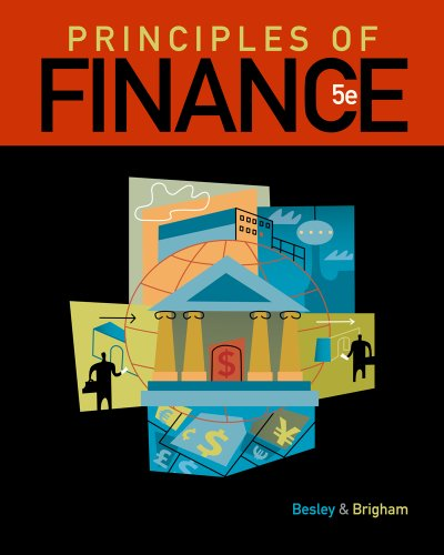 Principles of Finance  5th 2012 edition cover