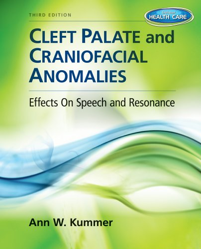Cleft Palate and Craniofacial Anomalies Effects on Speech and Resonance (with Student Web Site Printed Access Card) 3rd 2014 edition cover