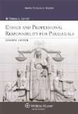 Ethics and Professional Responsibility for Paralegals  7th 2014 edition cover