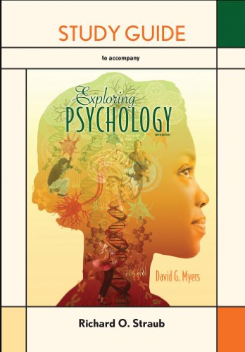 EXPLORING PSYCHOLOGY-STD.GDE.  N/A edition cover