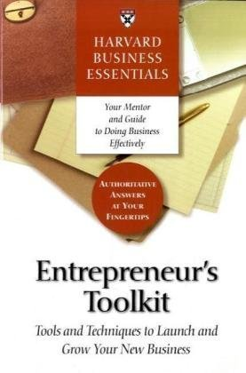 Entrepreneur's Toolkit Tools and Techniques to Launch and Grow Your New Business  2004 edition cover