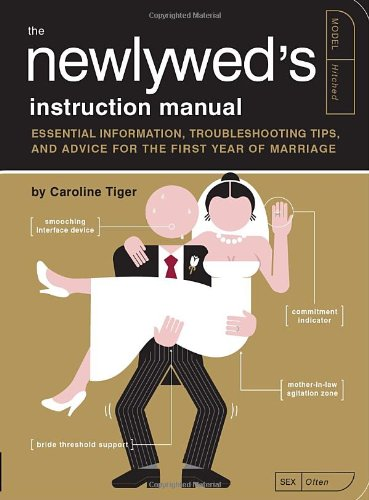 Newlywed's Instruction Manual Essential Information, Troubleshooting Tips, and Advice for the First Year of Marriage  2010 (Teachers Edition, Instructors Manual, etc.) 9781594744365 Front Cover