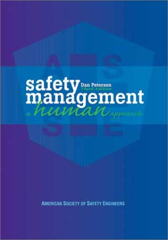 Safety Management A Human Approach 3rd 2001 (Revised) edition cover