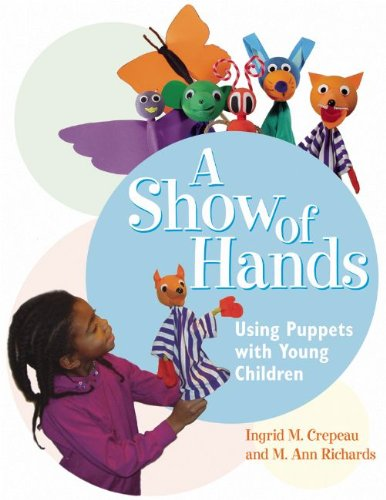 Show of Hands Using Puppets with Young Children  2003 edition cover