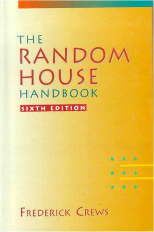 Random House Handbook  6th 1992 (Revised) edition cover